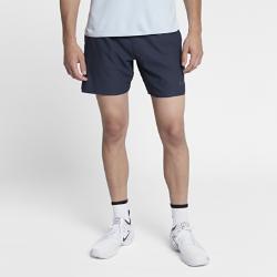 Мужские теннисные шорты Court Flex Ace 18 см Nike. Цвет: синий