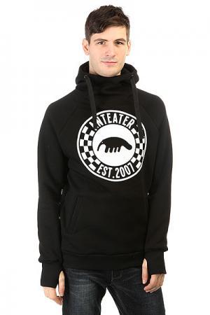 Толстовка сноубордическая  Hoodie Checker Anteater. Цвет: черный