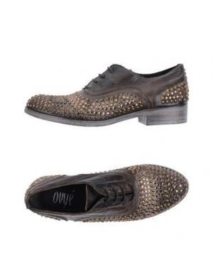 Обувь на шнурках OVYE' by CRISTINA LUCCHI. Цвет: темно-коричневый