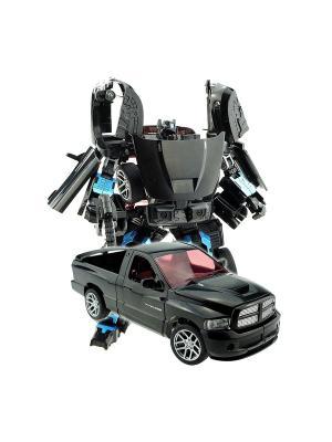 Робот, Трансформер Собирается в Пикап XXL Склад Уникальных Товаров. Цвет: черный