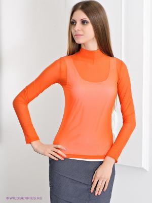 Водолазка MONDIGO. Цвет: оранжевый