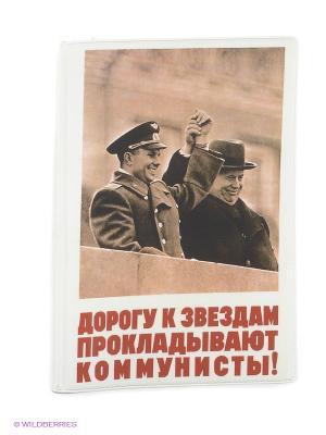 Обложка для автодокументов Mitya Veselkov. Цвет: белый, коралловый