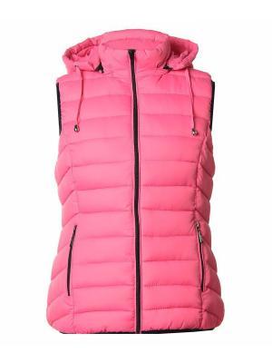 Жилет Classic Fashion. Цвет: розовый