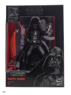 Коллекционные литые  фигурки Звездные Войны Star Wars. Цвет: черный