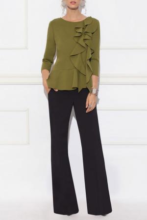 Блуза Nissa. Цвет: green