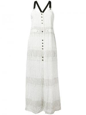 Платье Dafne Damir Doma. Цвет: белый