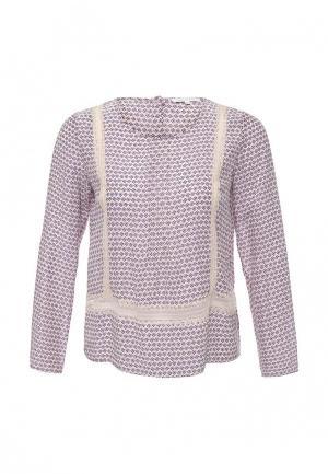 Блуза Patrizia Pepe. Цвет: фиолетовый