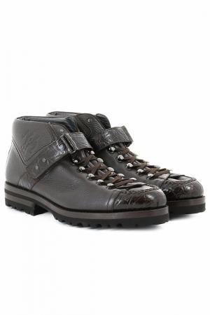 Ботинки Pakerson. Цвет: коричневый