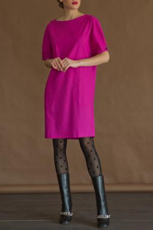 Платье LeVall. Цвет: малиновый