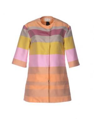 Легкое пальто TOY G.. Цвет: абрикосовый