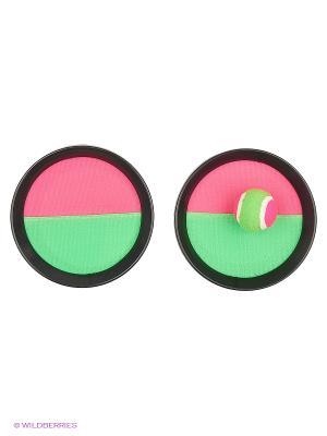 Набор для игры в кетчбол Magic Home. Цвет: желтый, зеленый, синий