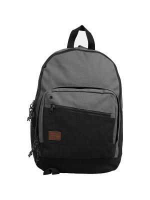 Рюкзак LANEWAY CANVAS (FW17) BILLABONG. Цвет: черный, серый