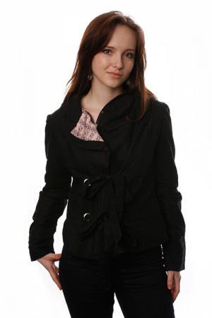 Куртка женская  Sacred Black Split. Цвет: черный