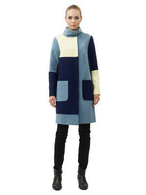 Пальто DOCTOR E. Цвет: голубой, желтый, синий