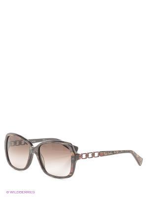 Солнцезащитные очки Pierre Cardin. Цвет: черный, бордовый