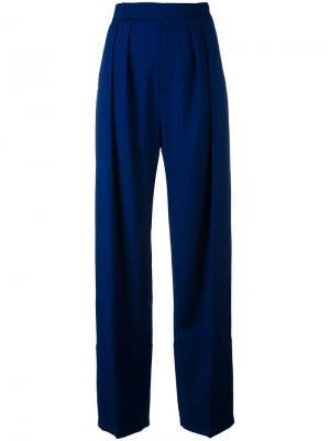 Укороченные брюки Outsource Images. Цвет: синий