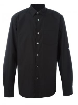 Классическая рубашка John Varvatos. Цвет: чёрный