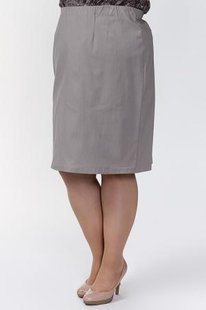 Юбка Qneel. Цвет: коричневый
