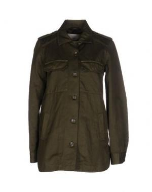 Легкое пальто ..,MERCI. Цвет: зеленый-милитари