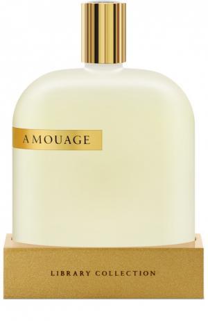Парфюмерная вода Opus II Amouage. Цвет: бесцветный