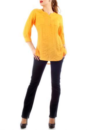 Туника Lamiavita. Цвет: желто-оранжевый
