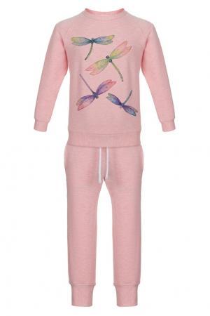 Хлопковый костюм LISA&LEO. Цвет: none