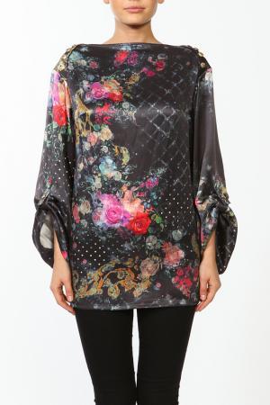Блуза Balmain. Цвет: черный