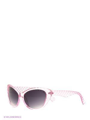 Очки солнцезащитные  ROMANTIC Daisy Design. Цвет: бледно-розовый