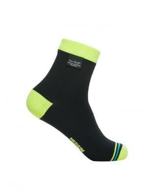 Водонепроницаемые носки DexShell Ultralite Biking Hi-vis Yellow. Цвет: салатовый, черный
