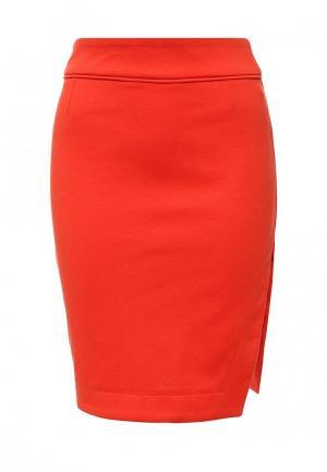 Юбка Top Secret. Цвет: оранжевый