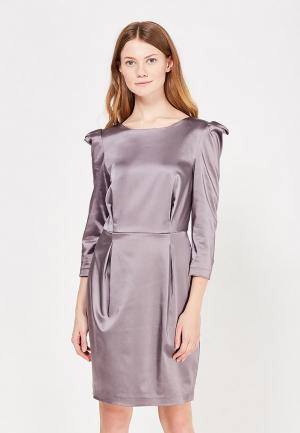 Платье Vika Smolyanitskaya. Цвет: серый