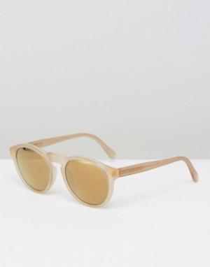 Retrosuperfuture Солнцезащитные очки Paloma. Цвет: прозрачный