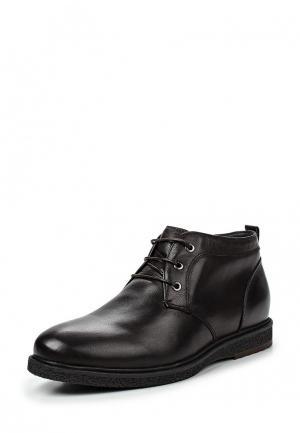 Ботинки классические Quattrocomforto. Цвет: коричневый