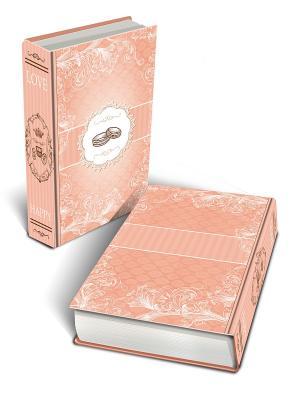 Декоративная шкатулка из МДФ Обручальные кольца Magic Home. Цвет: розовый