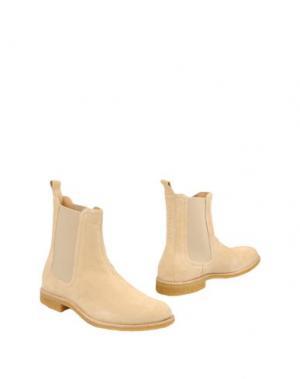 Полусапоги и высокие ботинки REPRESENT. Цвет: песочный
