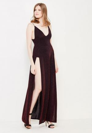 Платье Edge Street. Цвет: бордовый