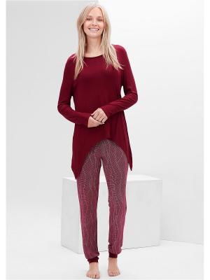 Пижама S.OLIVER. Цвет: темно-фиолетовый