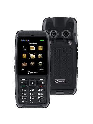 Телефон SENSEIT P101. Цвет: черный