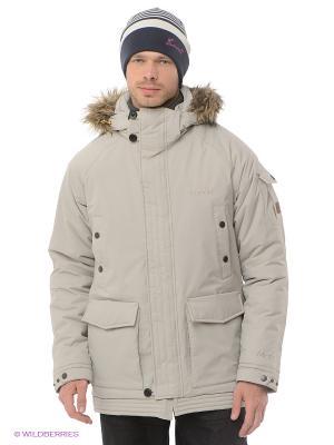 Куртка Tenson. Цвет: бежевый