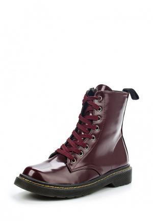 Ботинки Coco Perla. Цвет: бордовый