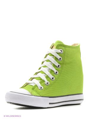 Сникеры 4U. Цвет: светло-зеленый