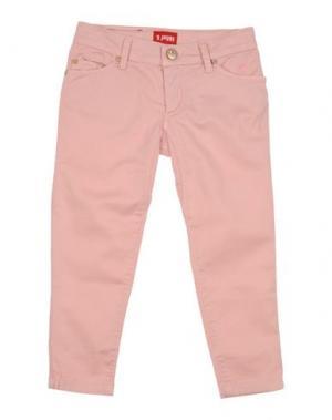 Повседневные брюки JAGGY. Цвет: розовый