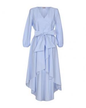 Платье до колена TWENTY EASY by KAOS. Цвет: лазурный