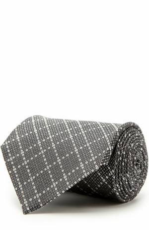 Шелковый галстук Tom Ford. Цвет: темно-серый