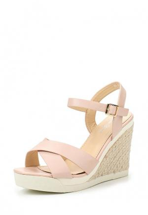 Босоножки Max Shoes. Цвет: розовый