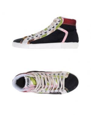 Высокие кеды и кроссовки SPRINGA. Цвет: розовый