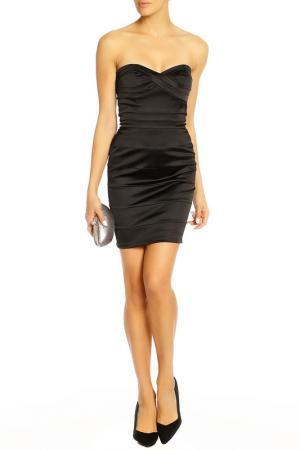 Платье Diva. Цвет: черный