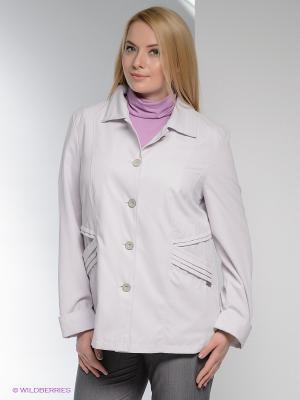 Куртка WEGA. Цвет: сиреневый