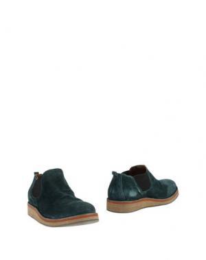 Полусапоги и высокие ботинки FIORENTINI+BAKER. Цвет: цвет морской волны