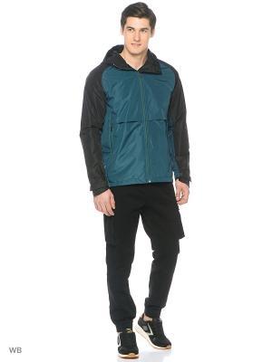 Куртка Modis. Цвет: зеленый, черный